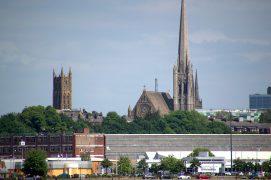Preston's skyline from the Docks Pic: Tony Worrall