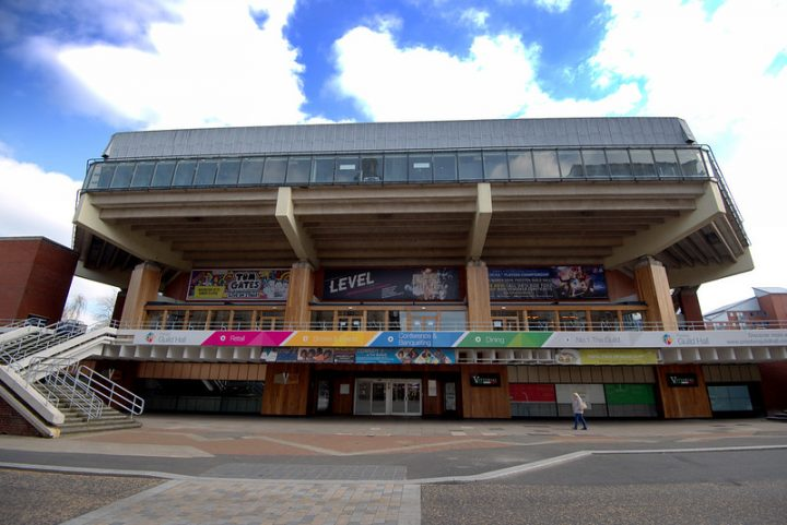 Preston Guild Hall in Lancaster Road Pic: Tony Worrall