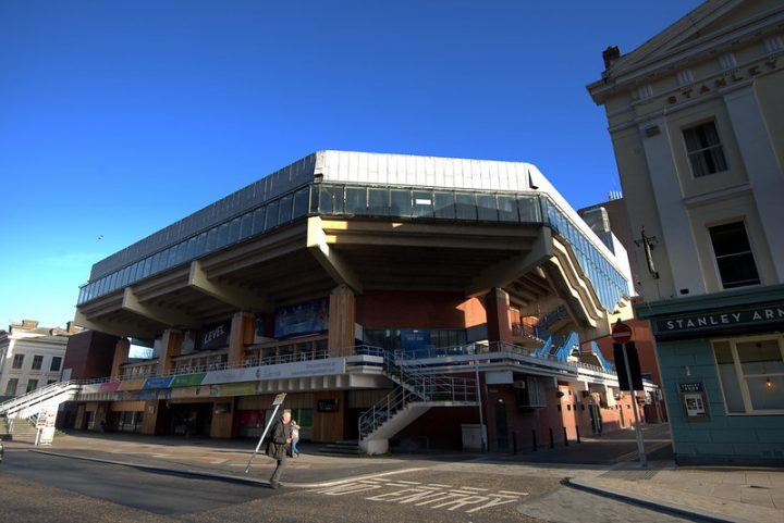Preston Guild Hall was closed as a venue and the parent firm placed into administration Pic: Tony Worrall