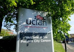 The UCLan campus in Preston Pic: Tony Worrall