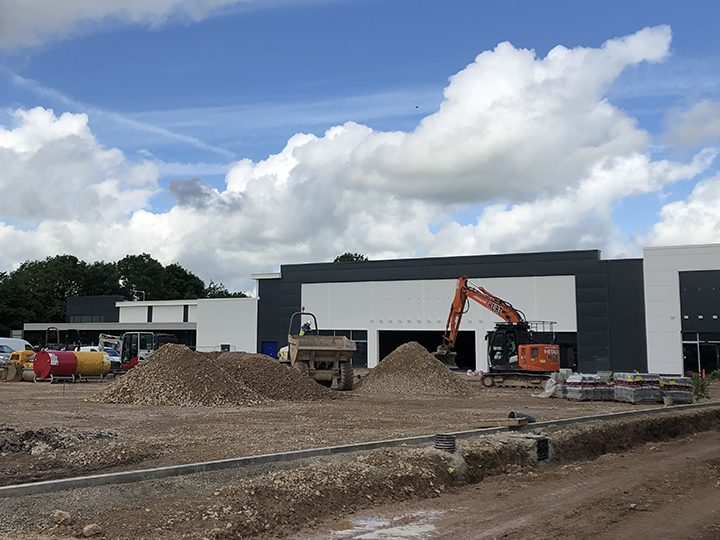 Aldi will occupy the space to the left while B&M will move into the middle unit