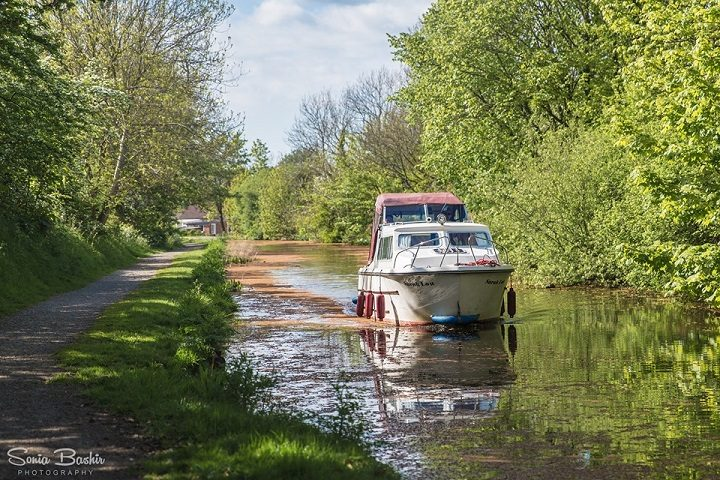 The Lancaster Canal at Preston Pic: Sonia Bashir