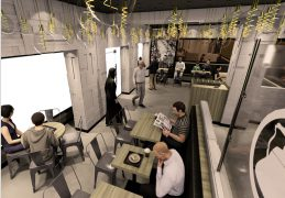 An artist's impression of the inside of Preston's chaiiwala