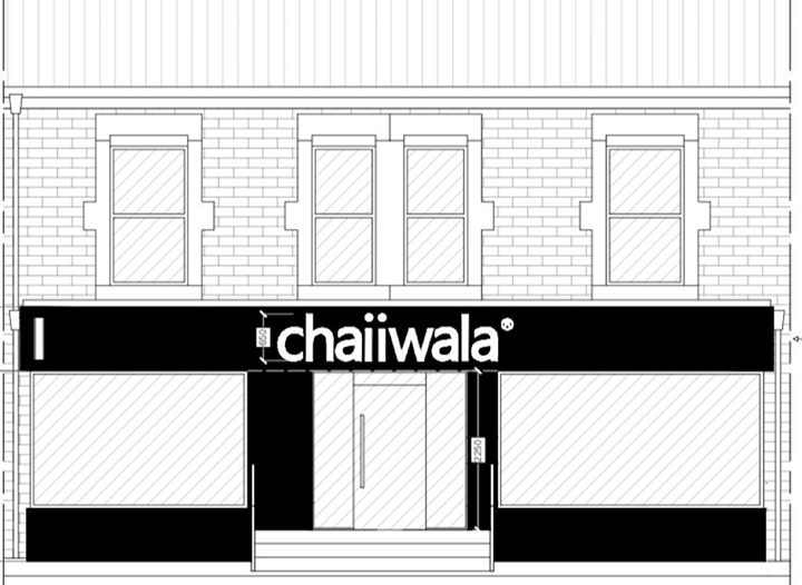 A sketch of the exterior of the new Preston chaiiwala