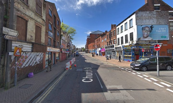 The city council says temporary lights are in place from Manchester Road to the Minster Pic: Google
