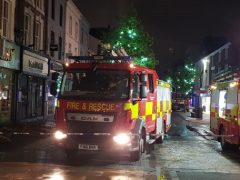 Fire crews in Fishergate during Tuesday evening Pic: Mark O'Rourke