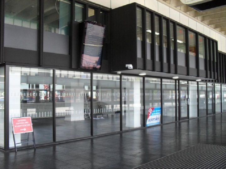 This is where the Greggs will be in the Bus Station