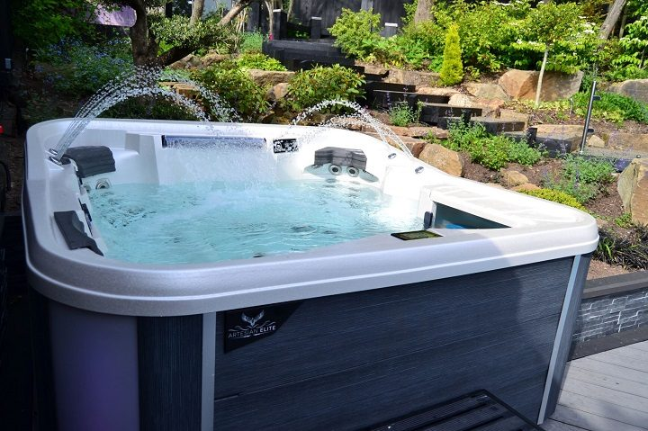 Hot tub - have you fancied one in your back garden?