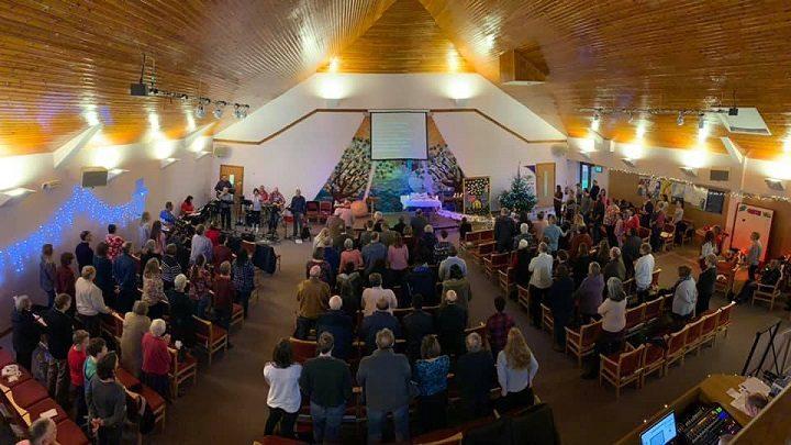 Inside St Cuthbert's Church in Fulwood