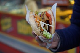 The giant kebab is being custom made and will include a metre of kebab Pic: Pixabay