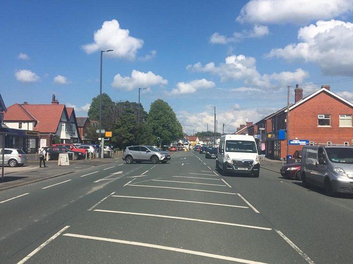 Looking along Liverpool Road in Penwortham Pic: Blog Preston