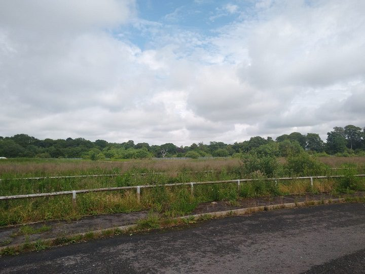 The land at Red Scar which is due to be built on Pic: Blog Preston