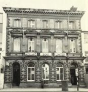 The old Midland Bank building in Fishergate in the 1960s