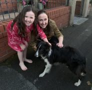 Molly reunited with her owners Pic: Blog Preston/Julian Williams