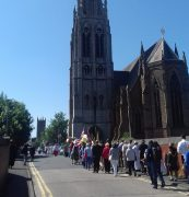 The Witness walk at St Walburge's