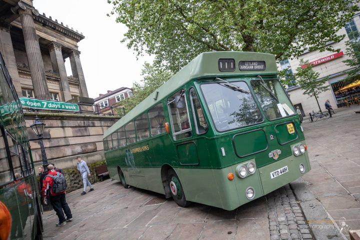 The green Fishwick buses, a previous regular on the city's streets Pic: Michael Porter