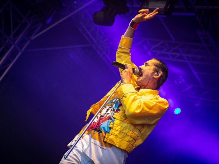 The Queen tribute act drew big crowds at Rock Prest