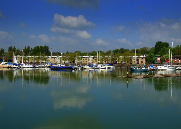 A calm scene at Preston Marina Pic: Tony Worrall