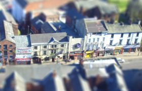 Looking down into Church Street Pic: Tony Worrall
