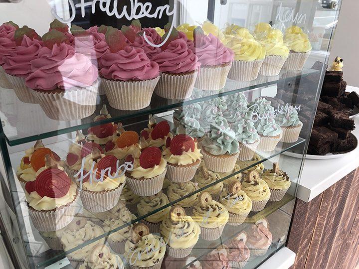 Cupcake selection at Indulgence