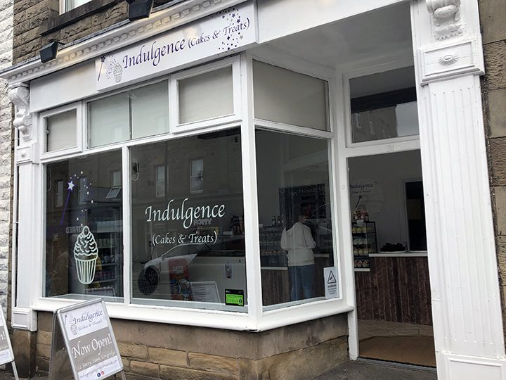 Indulgence (Cakes and Treats) shop front