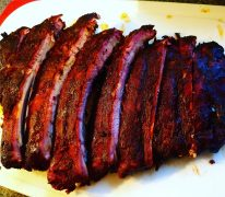 Ribs from the Smokin V's Real Barbecue