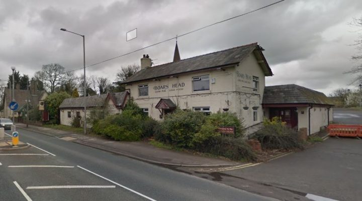 Boars Head on the A6 Pic: Google