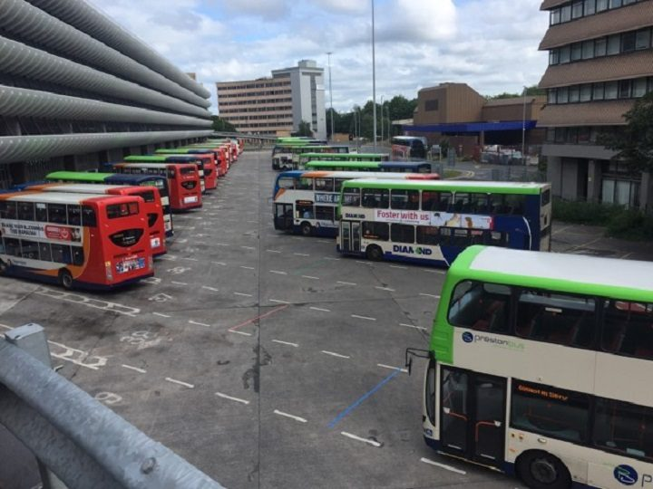 Seeing the buses moving from above in Conductor Pic: Ryan Gillett