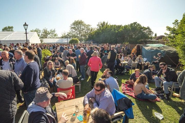 Sunshine at the Conti Beer Festival in 2017