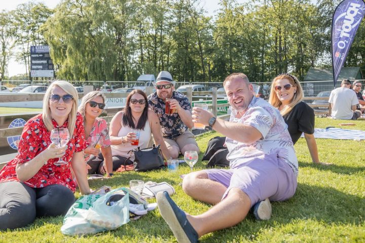 Sunshine and drinks at Hopfest 2019