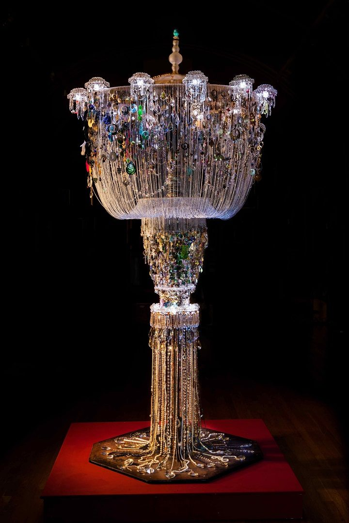 The Chandelier is quite a sight to behold! Geoff Brokate