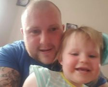 Paul Pearson was described as a 'devoted Dad'