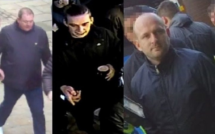 Picture of three men released by Preston Police