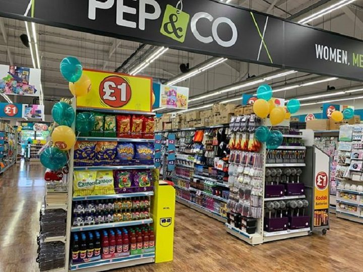 Inside the new Poundland at Deepdale Shopping Park
