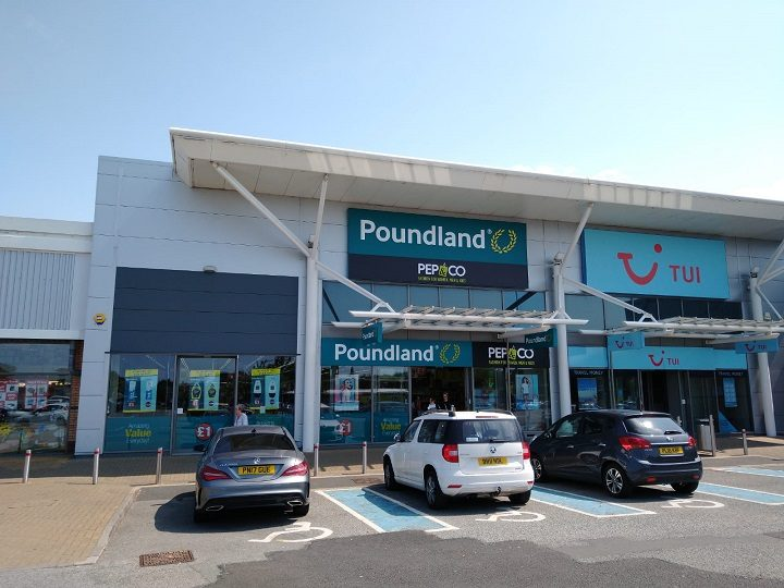 The Poundland store at Deepdale Shopping Park Pic: Blog Preston