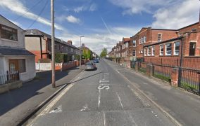 St Thomas Road where the incident took place Pic: Google