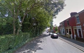 St Thomas Road where the fight took place Pic: Google