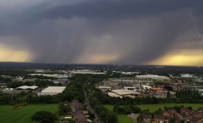 Storm clouds over Preston Pic: Stephen Melling