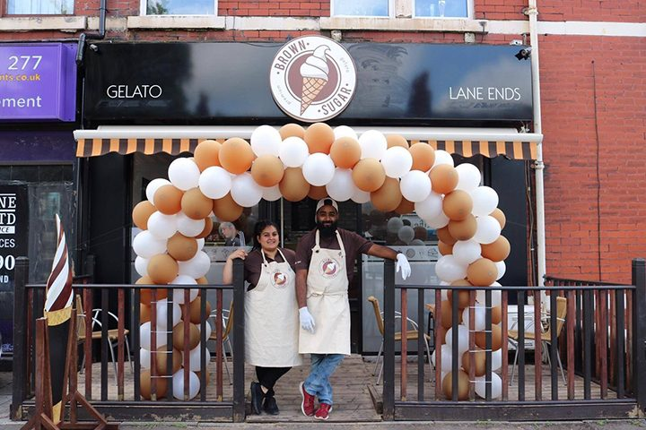 Brown Sugar owners Rahman Khan and Ameena Anjum on opening day Pic: Brown Sugar/Facebook