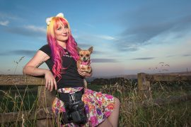 Cat Race is the woman behind CatsDog Pic: Michael Higginson