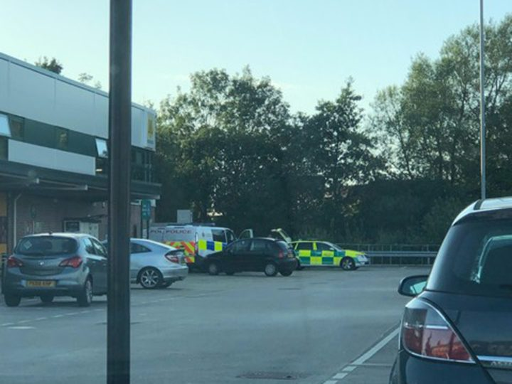 Emergency services at Morrisons