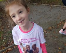 Jessica fundraising for NF1