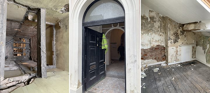 The 'before' photos of 3 Latham Street