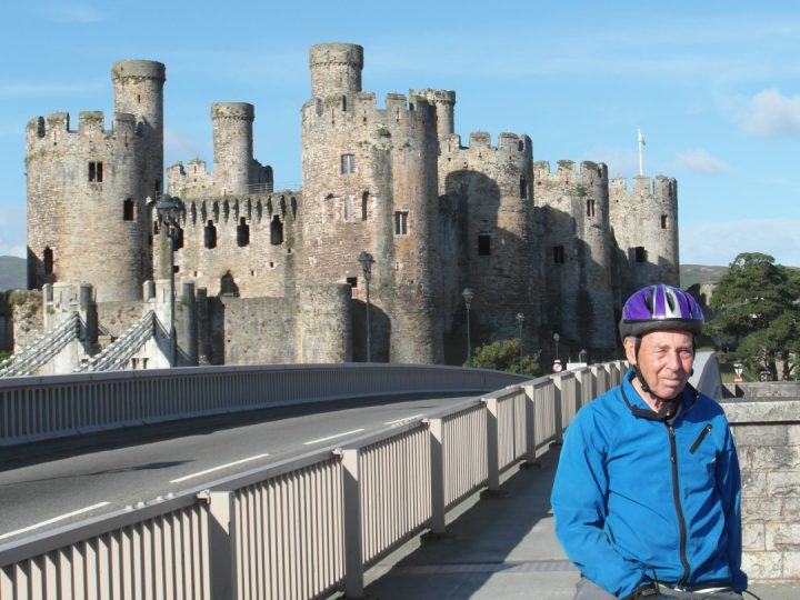 Brian at Wales' Conwy Castle