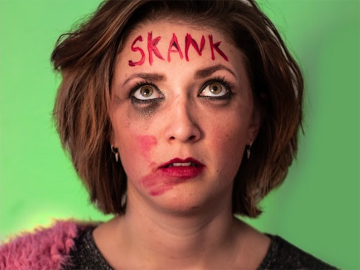 Clementine Bogg-Hargroves plays Kate, a skank