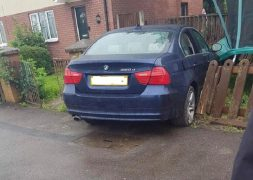 BMW abandoned in Ribbleton Pic: Blog Preston