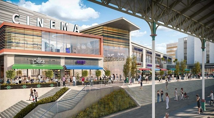 A view of how the cinema development may look