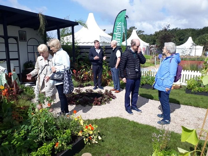 Visitors to Southport Flower Show looking round the garden Pic: Let's Grow Preston