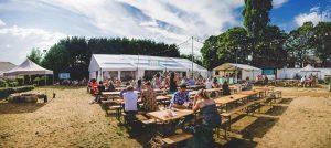 Sun shines on the Plungington Gin Festival