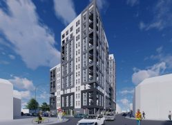 How the new flats towering at 15-storeys high would look